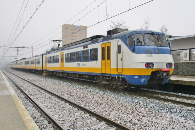 Foto van NS SGM 2995 Electrisch treinstel door LeoScribens