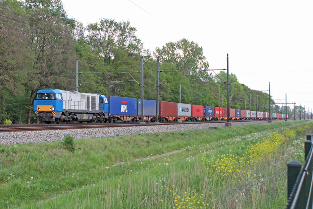 Foto van RRF Vossloh G 2000 BB 1445 Diesel locomotief door best trains