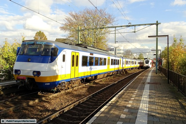 Foto van NS SGM 2986 Electrisch treinstel door PublicTransportNetherlands