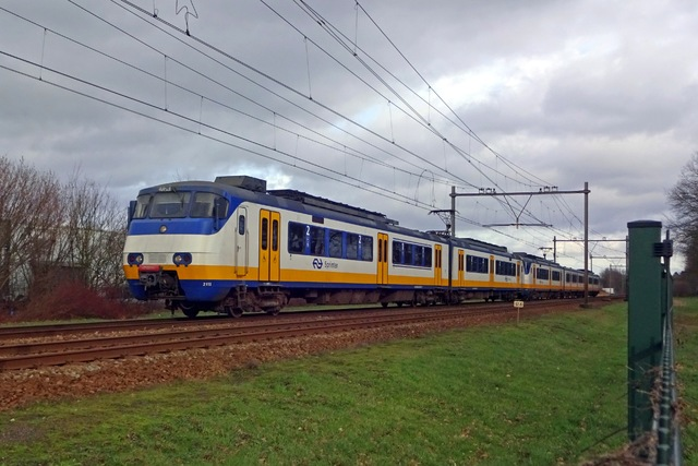 Foto van NS SGM 2115 Electrisch treinstel door LeoScribens