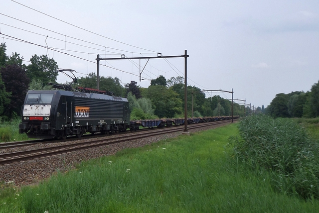Foto van Locon Siemens ES64F4 189099 Electrische locomotief door LeoScribens