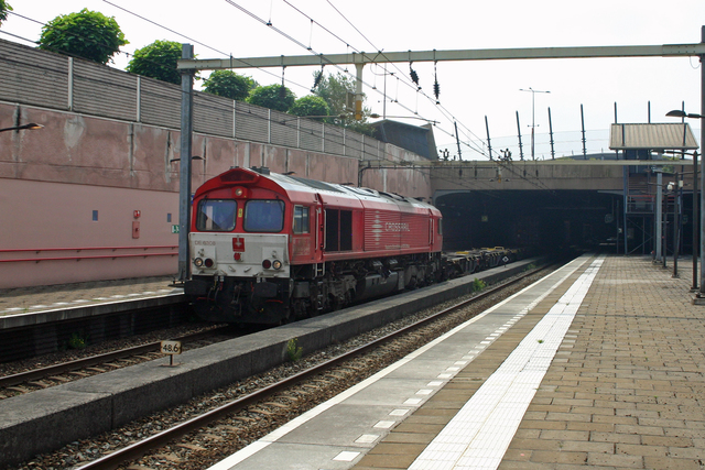 Foto van Crossrail EMD Class 66 6308 Diesel locomotief door best trains