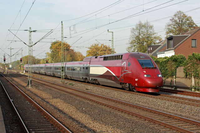 Foto van Thalys TGV 4322 Electrisch treinstel door best trains
