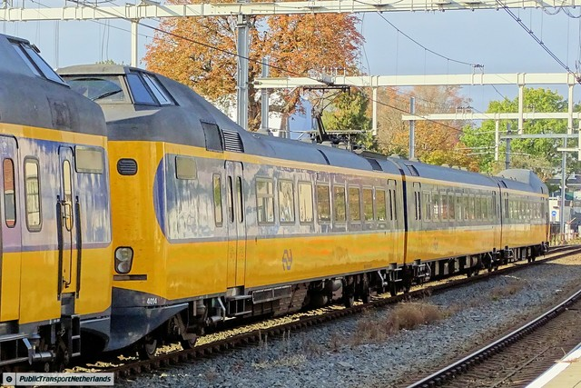 Foto van NS ICM 4014 Electrisch treinstel door PublicTransportNetherlands