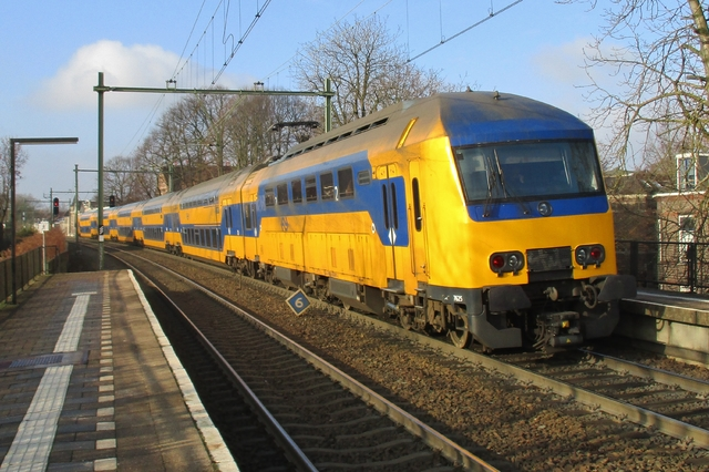 Foto van NS DDZ 7625 Treinstam door LeoScribens