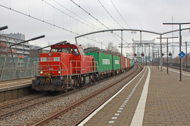 Foto van DBC MaK 6400 6433 Diesel locomotief door best trains