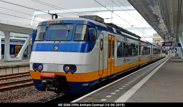 Foto van NS SGM 2994 Electrisch treinstel door PublicTransportNetherlands