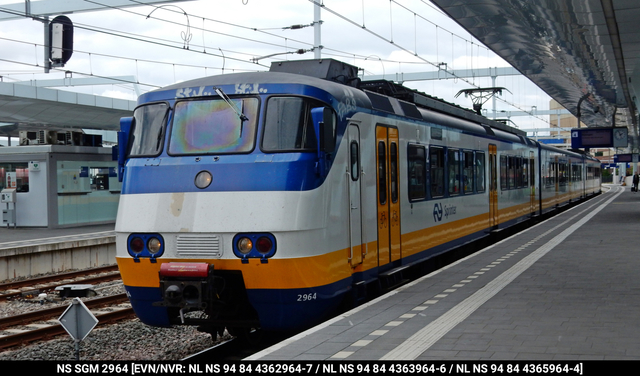 Foto van NS SGM 2964 Electrisch treinstel door PublicTransportNetherlands