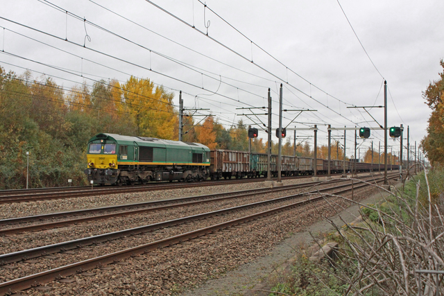 Foto van RheinCargo EMD Class 66 67 Diesel locomotief door best trains