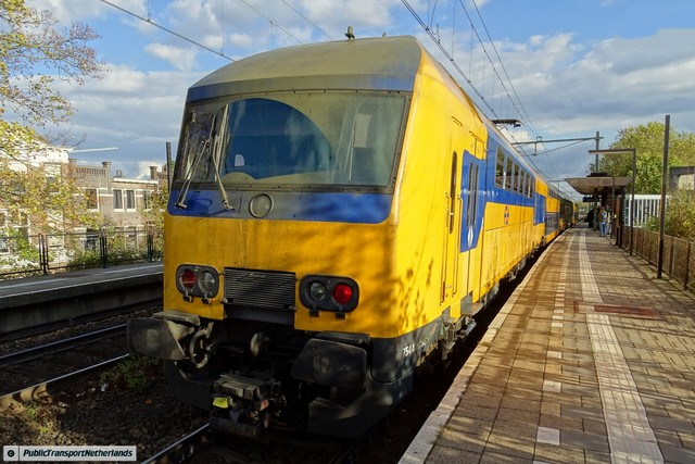 Foto van NS DDZ 7544 Treinstam door PublicTransportNetherlands