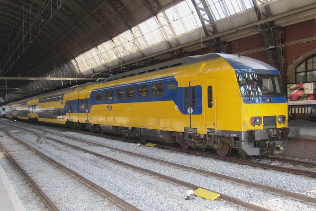 Foto van NS DDZ 7522 Treinstam door LeoScribens