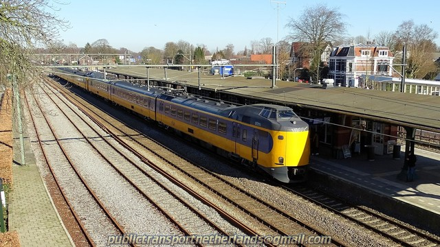Foto van NS ICM 4055 Electrisch treinstel door PublicTransportNetherlands