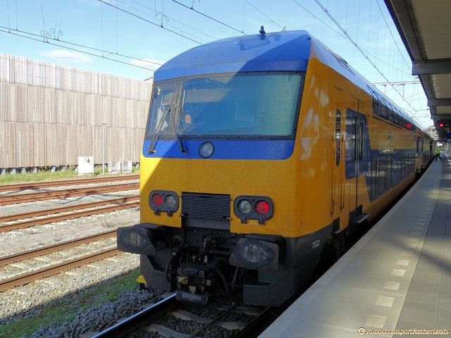 Foto van NS DDZ 7522 Treinstam door PublicTransportNetherlands