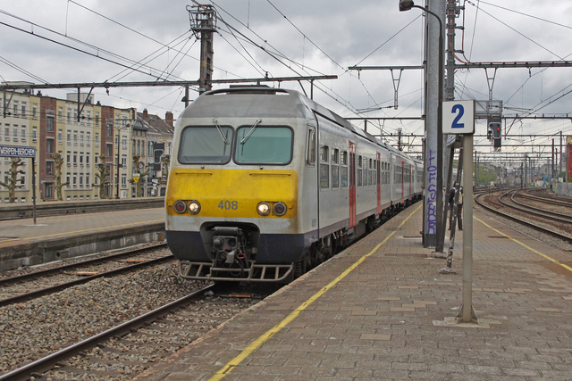 Foto van NMBS MS80 408 Electrisch treinstel door best trains