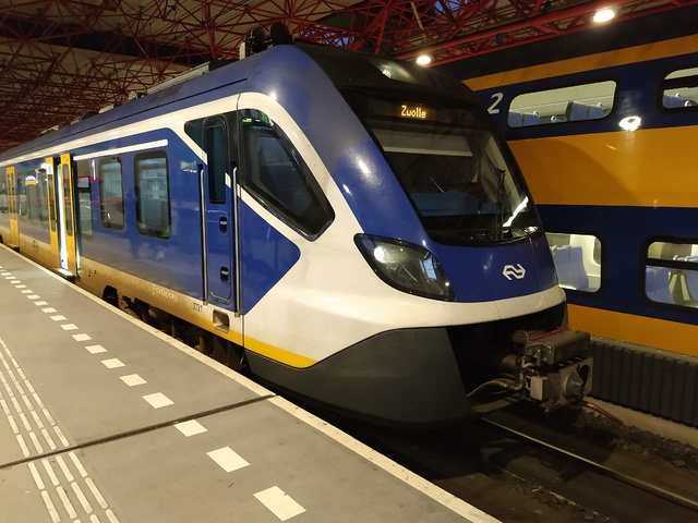 Foto van NS SNG CAF Civity 2721 Electrisch treinstel door Rupsje