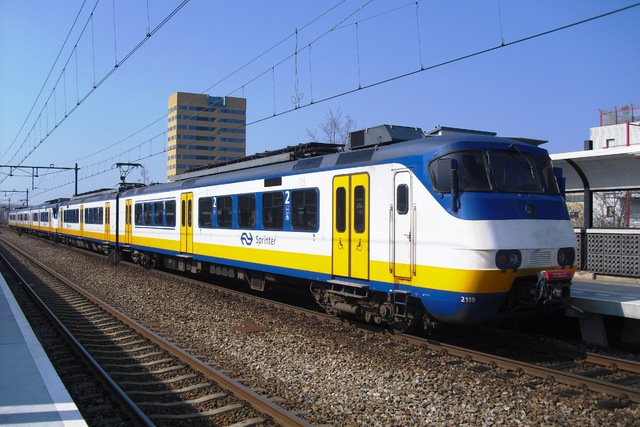 Foto van NS SGM 2119 Electrisch treinstel door LeoScribens