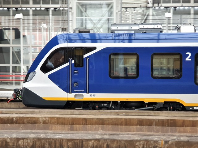 Foto van NS SNG CAF Civity 2345 Electrisch treinstel door wyke2207