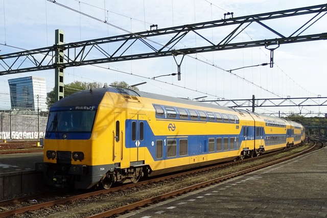 Foto van NS DDZ 7534 Treinstam door PublicTransportNetherlands