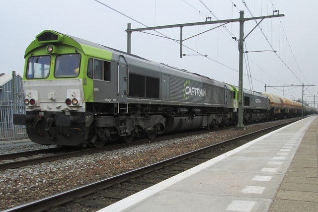 Foto van Captrain EMD Class 66 6605 Diesel locomotief door LeoScribens