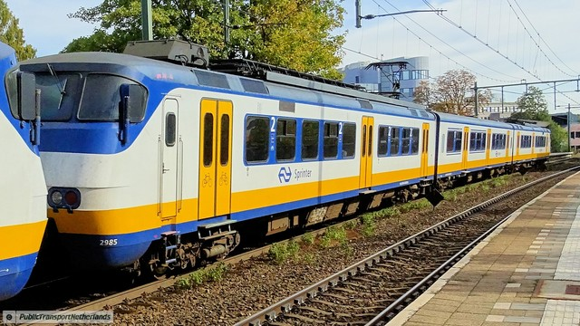 Foto van NS SGM 2985 Electrisch treinstel door PublicTransportNetherlands