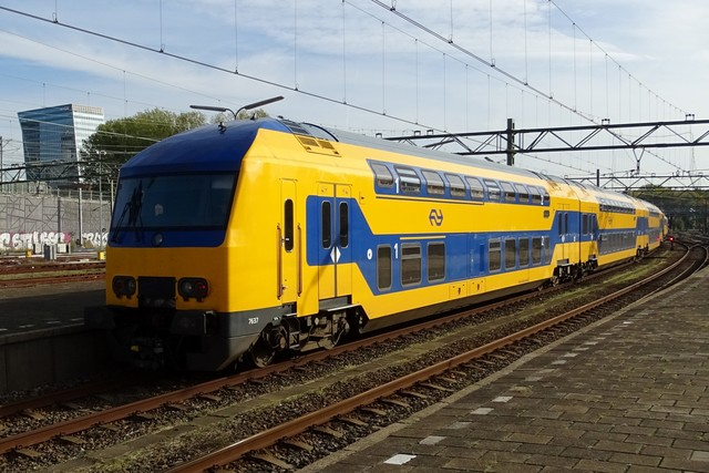 Foto van NS DDZ 7637 Treinstam door PublicTransportNetherlands