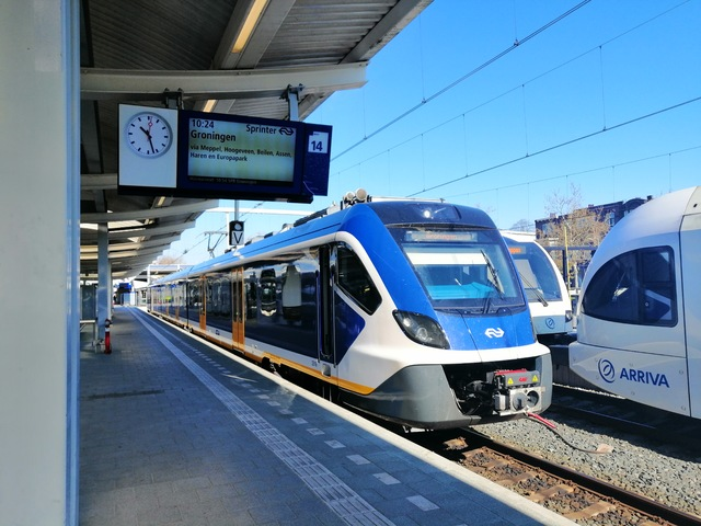 Foto van NS SNG CAF Civity 2316 Electrisch treinstel door Roger Hanenburg