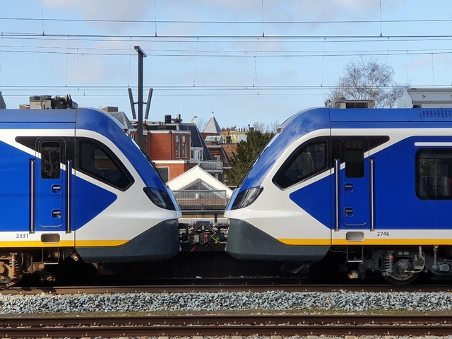 Foto van NS SNG CAF Civity 2331 Electrisch treinstel door wyke2207