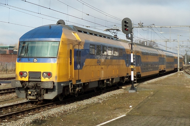 Foto van NS DDZ 7536 Treinstam door LeoScribens