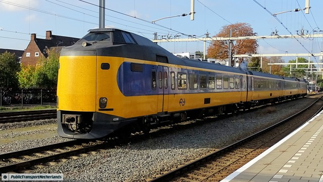 Foto van NS ICM 4208 Electrisch treinstel door PublicTransportNetherlands