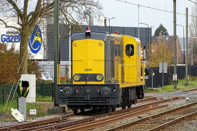 Foto van BSH 2400 2454 Diesel locomotief door PublicTransportNetherlands