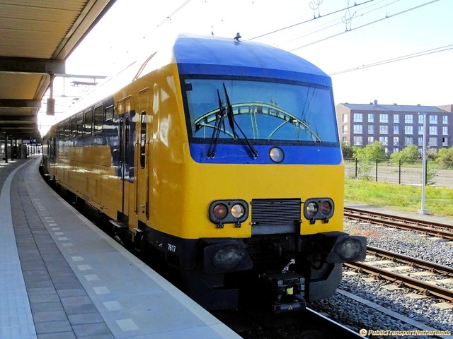 Foto van NS DDZ 7617 Treinstam door PublicTransportNetherlands