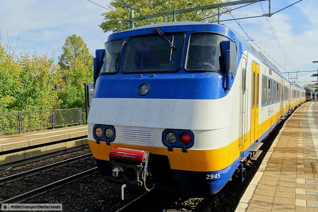 Foto van NS SGM 2945 Electrisch treinstel door PublicTransportNetherlands