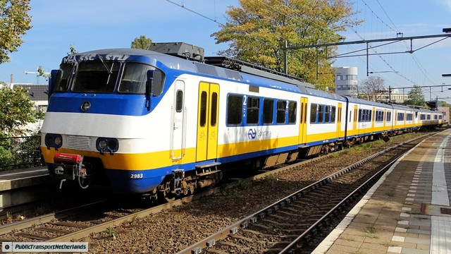 Foto van NS SGM 2983 Electrisch treinstel door PublicTransportNetherlands