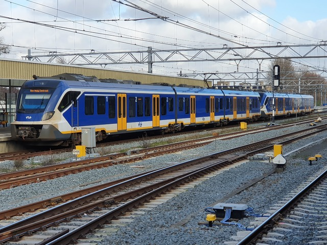 Foto van NS SNG CAF Civity 2327 Electrisch treinstel door wyke2207