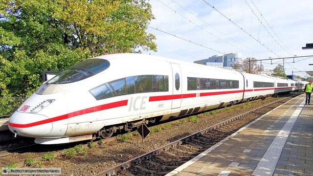 Foto van NS ICE-3M 4610 Electrisch treinstel door PublicTransportNetherlands