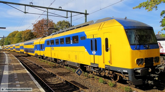 Foto van NS DDZ 7639 Treinstam door PublicTransportNetherlands