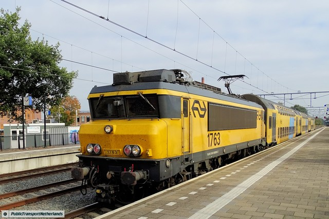 Foto van NS Alsthom 1700 1763 Electrische locomotief door PublicTransportNetherlands