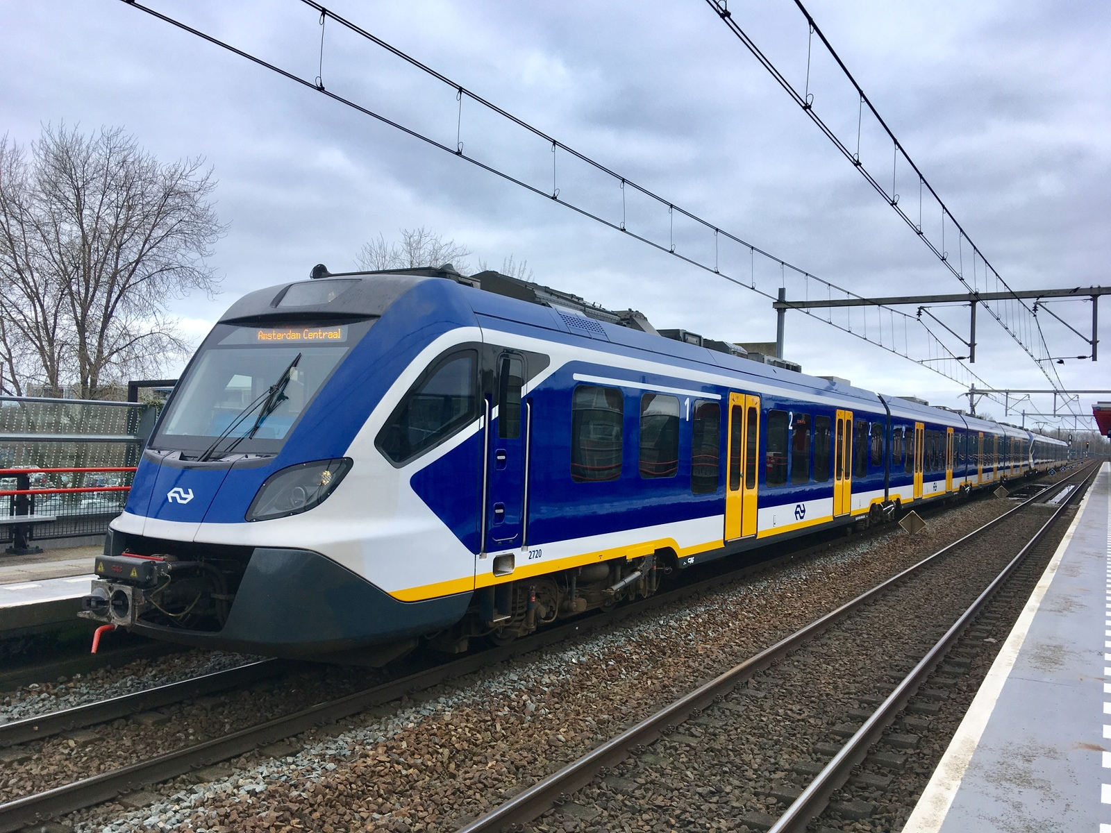 Foto van NS SNG CAF Civity 2720
